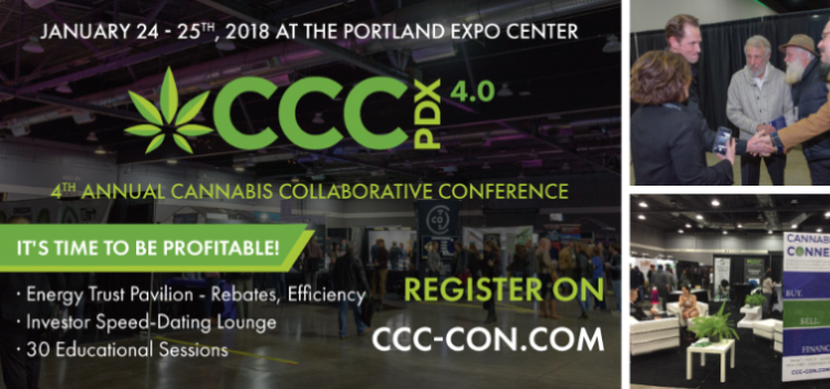 Enjoy the CCC PDX 4.0, find the trends of cannabis packaging.