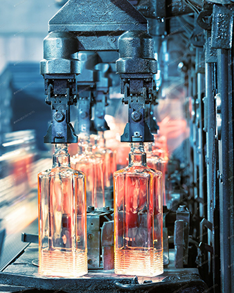 glass processing factory picture,The main products are glass jar,glass tube,dropper bottle,glass syringe
